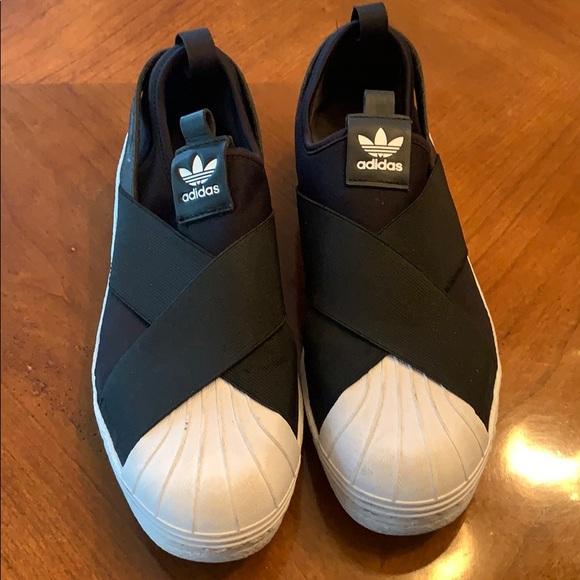adidas Shoes | Crisscross Slipon